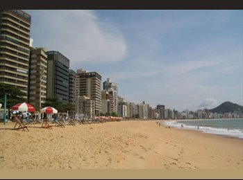 EasyQuarto BR - Vamos dividir o apê?  Quarto individual na Praia Itapoã, Vila Velha - R$ 700 Por mês