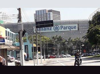 EasyQuarto BR - Pensão (Feminina )  Vagas por 348,00  c tudo incluso  Trem Lapa Metro Barra Funda ZO SP Madalena., Lapa - R$ 348 Por mês