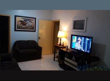 EasyQuarto BR - Quarto  mobiliado  (setor oeste), Goiânia - R$ 620 Por mês