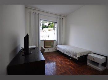 EasyQuarto BR - Amplo Quarto em Ipanema, próximo ao Metro e a Praia, Ipanema - R$ 1.600 Por mês