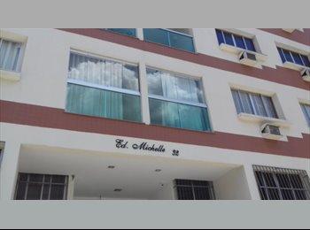 EasyQuarto BR - Quarto disponível na Praia do Canto Apartamento mobiliado, Vitória - R$ 600 Por mês