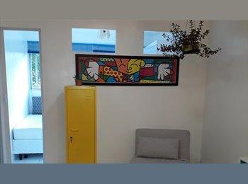EasyQuarto BR - Divido apartamento , Santa Cecilia - R$ 780 Por mês