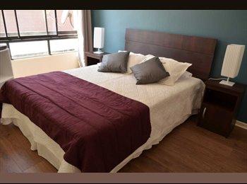 CompartoDepto CL - Dos habitaciones - Hermoso departamento, Santiago - CH$ 245.000 por mes