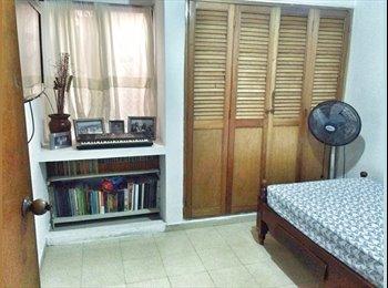 CompartoApto CO - HABITACION CERCA A UNIVERSIDADES, Cartagena - COP$550.000 por mes