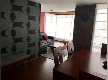 CompartoApto CO - Habitación amplia, bonita, amueblada, apartamento amplio y elegante, Bogotá - COP$850.000 por mes
