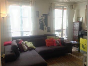 Appartager FR - Chambre Paris 75017 Batignolles, 17ème Arrondissement - 800 € /Mois