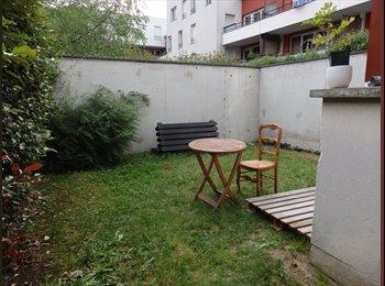 Appartager FR - Chambre dans maison avec jardin - La Plaine St Denis, La Plaine-Saint-Denis - 400 € /Mois