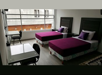 CompartoDepa MX - Suites Amuebladas, Cuauhtémoc - MX$9,000 por mes