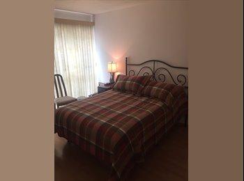 CompartoDepa MX - Rento recámara / Bedroom for rent, Cuauhtémoc - MX$7,000 por mes