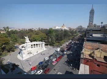 CompartoDepa MX - MODERNO DEPARTAMENTO ENFRENTE ALAMEDA CENTRAL, México - D.F. - MX$30,000 por mes