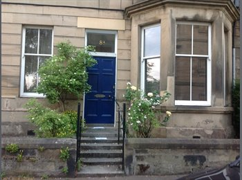 EasyRoommate UK - Double room available 1-13th July, Bruntsfield - £450 pcm