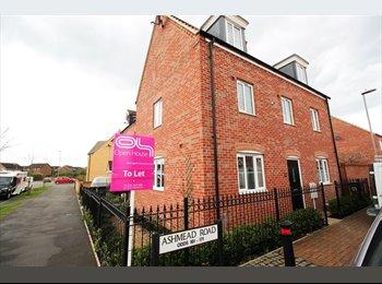 EasyRoommate UK - Furnished Modern House Bills Inclusive, Bedford - £350 pcm