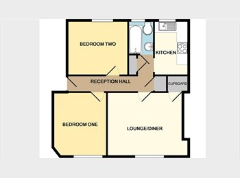 EasyRoommate UK - Double room in a 2 bedroomed flat June and July, Craigmillar - £600 pcm