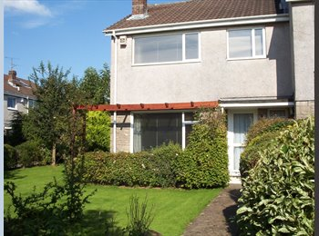 EasyRoommate UK - DOUBLE BEDROOM IN QUIET SEMI WITH GARDEN AND PARKING, Pentwyn - £495 pcm