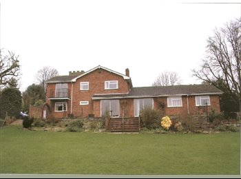 EasyRoommate UK - double rooms to rent in large country house with 1 acre garden, Hinckley - £380 pcm
