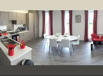 EasyRoommate UK - Ensuite double room to rent in Salford apartment , Spinningfields - £609 pcm