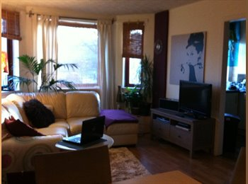EasyRoommate UK - Room with double bed for one person in homely flat, Restalrig - £450 pcm