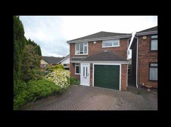 EasyRoommate UK - Double room to rent in quiet cul de sac , Nuneaton - £550 pcm
