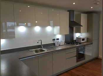 EasyRoommate UK - PERFECT DOUBLE ROOM in LUXURIOUS apartment in GREENWICH, Deptford - £867 pcm