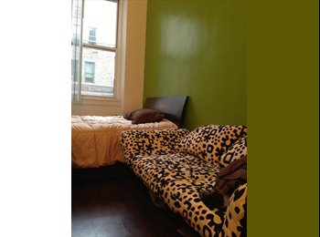 EasyRoommate US - Private your own Studio double bed sofa TV WIFI share bath, Chelsea - $1,650 pm