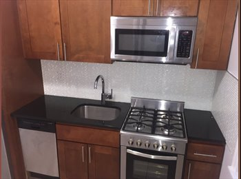 EasyRoommate US - amazing room for rent in 2 br apt.elevator,dishwasher.train1,A,C., Washington Heights - $1,150 pm