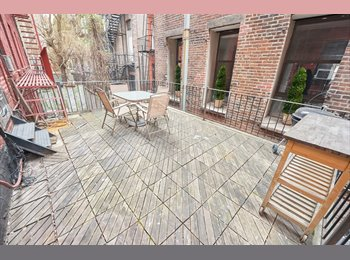 EasyRoommate US - Room In Furnished - Gorgeous 3 Br 2 Bath Apt, Private Terrace ! , Nolita - $1,650 pm