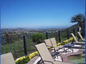 EasyRoommate US - Full House Privileges in Luxurious, Custom Mansion, Laguna Niguel - $1,350 pm