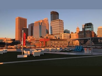EasyRoommate US -  $813 SEEKING FEMALE PROFESSIONAL ROOMMATE FOR NICE DOWNTOWN MPLS APARTMENT, Central Minneapolis - $813 pm