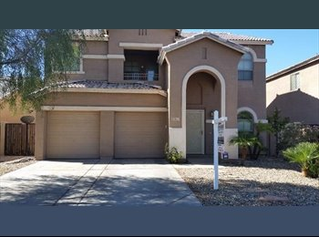 EasyRoommate US - Chill Hobbit-Types Wanted for a Private Room in a 2500sq.ft. Home w/Pool, Yard, & Home Gym , Maryvale Village - $750 pm