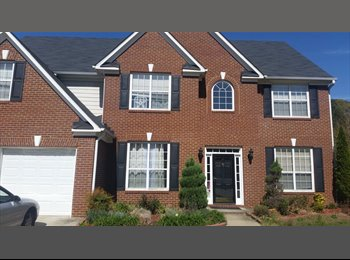EasyRoommate US - Room for rent in beautiful 4br 3bth house in the quiet scenic suburbs, Lawrenceville - $450 pm