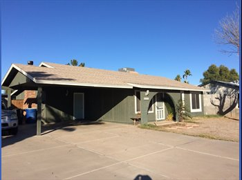 EasyRoommate US - Room For Rent in House, Chandler - $550 pm