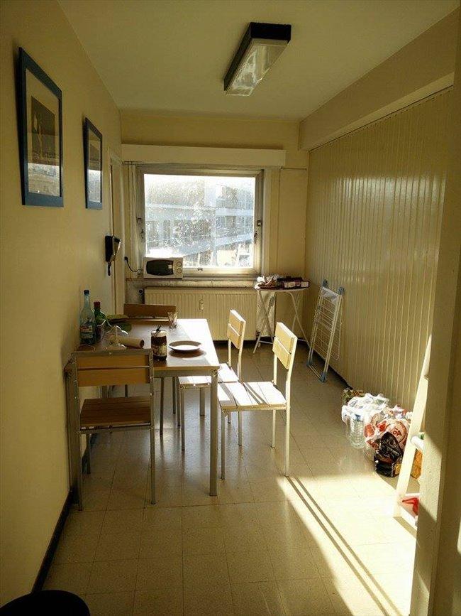 Colocation à La Louvière - petite chambre dans appartement meublé au 4e étage d'un immeuble   Appartager - Image 4