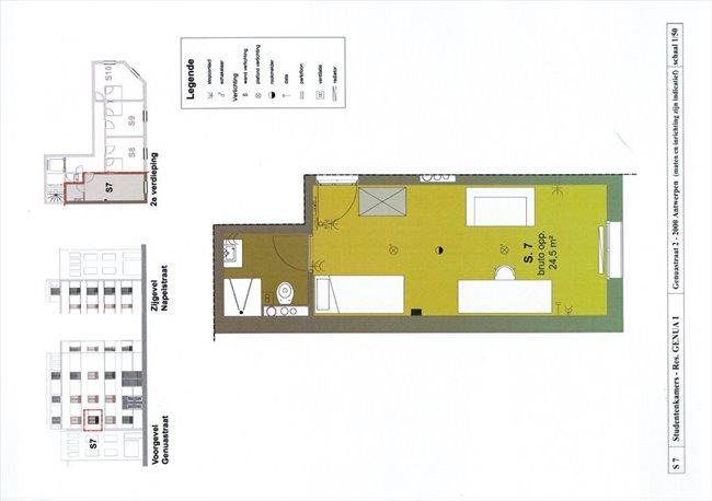 Koten te huur in Antwerpen-Anvers - Room - Students | EasyKot - Image 4