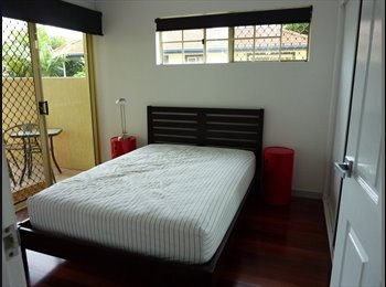 EasyRoommate AU - Ashgrove: Double Room + Own Bathroom & Balcony, Red Hill - $290 pw