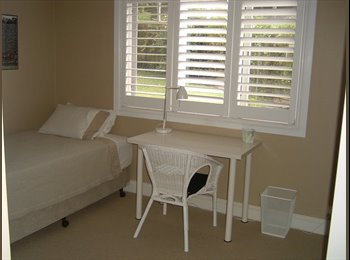 EasyRoommate AU - Fully furnished quiet room overlooking garden, St Leonards - $250 pw