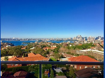 EasyRoommate AU - Bedroom with gorgeous city/harbour view for cheap price!!, Crows Nest - $280 pw