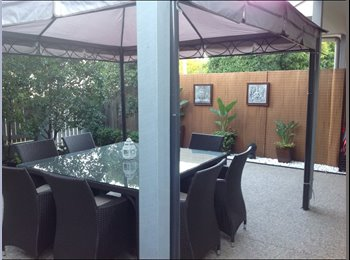 EasyRoommate AU - Fully Furnished Double Room with Balcony & Private Bathroom available in Townhouse, Newstead - $180 pw