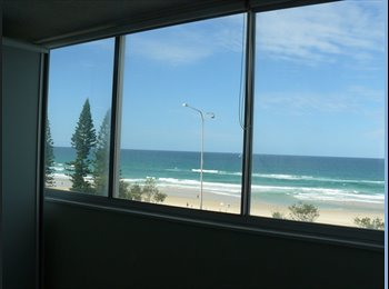 EasyRoommate AU - SURFERS PARADISE Beachfront apartment + Great  Ocean & Beach Views!!  , Southport - $425 pw