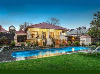 EasyRoommate AU - Luxury Villa , Kew - $260 pw