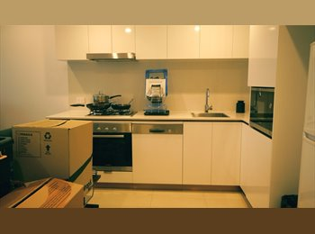 EasyRoommate AU - City and river 5th floor View apartment, Newstead - $225 pw