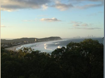 EasyRoommate AU - Amazing treehouse with ocean views, Coolangatta - $250 pw