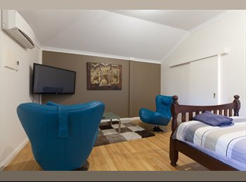 EasyRoommate AU - F/furn self Contained Studio apartment, St James - $345 pw