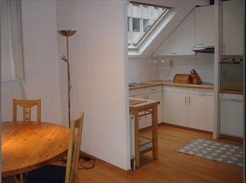 Appartager BE - LUMINOUS DUPLEX  WITH PRIVATE BATHROOM NEAR CE, Bruxelles - 725 € pm