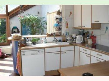Appartager BE - Chambre meublée dans maison avec jardin (calme), Uccle-Ukkel - 400 € pm