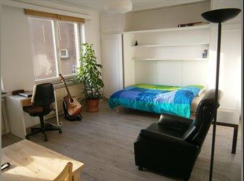 Appartager BE - Studio de 30 m2, Lumineux,5 min du Parvis de Saint, Saint Gilles Sint Gillis - 580 € pm