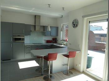 Appartager BE - SANS DUREE MIN.  de location, appartement terrasse contemporain très lumineux, Ans - 350 € pm