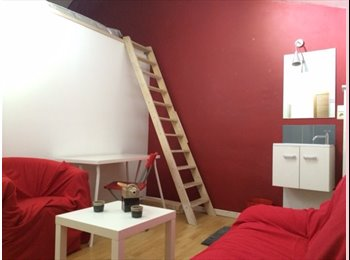 Appartager BE - chambre type studio lumineuse et moderne, Gembloux - 350 € pm