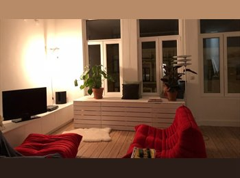 Appartager BE - Zolderverdieping in modern appartement, Anvers - 600 € pm