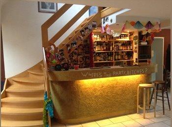 Appartager BE - 1 chambre se libère dans notre super maison!, Woluwe Saint Lambert - Sint Lambrechts Woluwe - 420 € pm