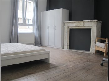 Appartager BE - BEAUTIFUL LARGE ROOMS IN ANTWERP CENTRE from june 2017, Anvers - 400 € pm